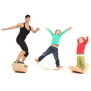 The Brett Bouncy Wooden Balance Board