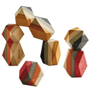 Plan Toys Geo Stacking Rocks