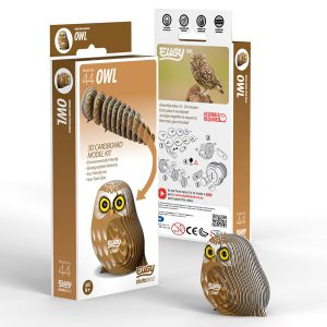 Eugy Owl 3D Craft Kit