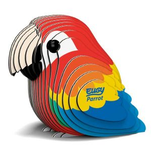 Eugy Parrot 3D Craft Kit