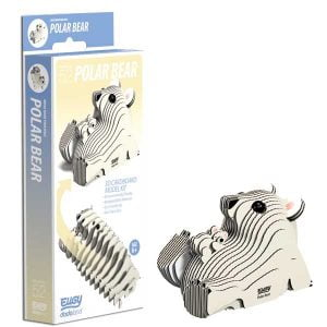 Eugy Polar Bear 3D Craft Kit
