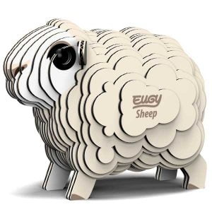 Eugy Sheep 3D Craft Kit