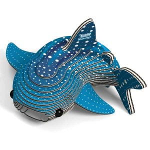 Eugy Whale Shark 3D Craft Kit