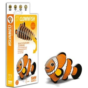 Eugy Clown Fish 3D Craft Kit