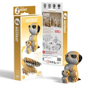 Eugy Meerkat 3D Craft Kit