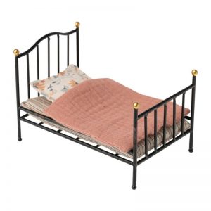 Maileg Vintage Mouse Bed Anthracite