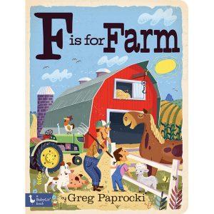 F is for Farm Alphabet Board Book