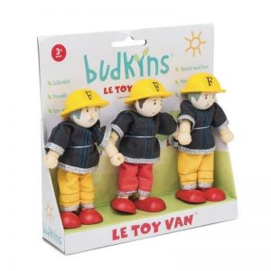 Le Toy Van Budkins Firefighters Gift Set