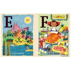 T is for Thankful Alphabet Board Book