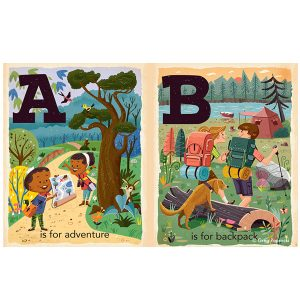 C is for Camping Alphabet Board Book