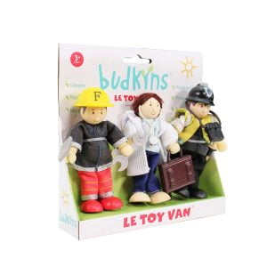 Le Toy Van Budkins People That Help Us Gift Set