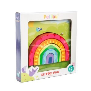 Le Toy Van Wooden Rainbow Tunnel