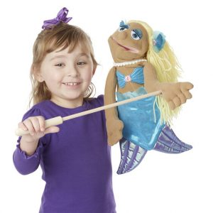 Melissa And Doug Shelly Seashore Mermaid Puppet