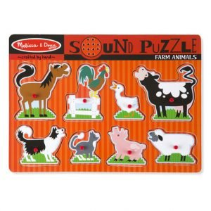 Melissa And Doug Farm Sound Puzzle