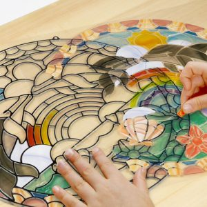Melissa And Doug Stained Glass Made Easy – Dolphins