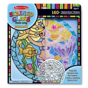 Melissa And Doug Stained Glass Made Easy – Mermaid