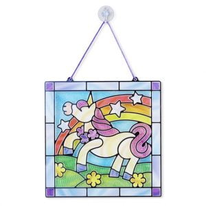 Melissa And Doug Stained Glass Made Easy – Unicorn