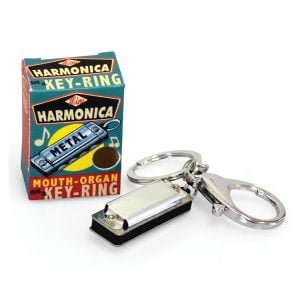 House Of Marbles Mini Harmonica Keyring