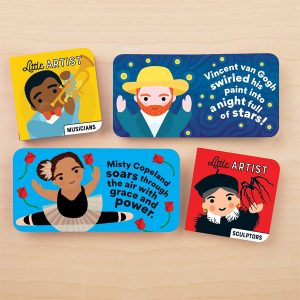 Mudpuppy Little Artist Board Book Set