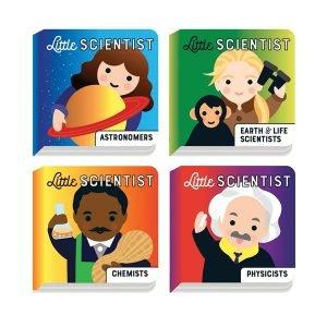 Mudpuppy Little Scientist Board Book Set