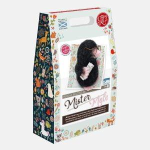 Crafty Kit Company – Mr Mole Needle Felting Kit