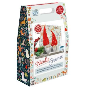 Crafty Kit Company – Nordic Gnomes Needle Felting Kit
