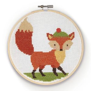 Crafty Kit Company – Fox Cross Stitch Kit