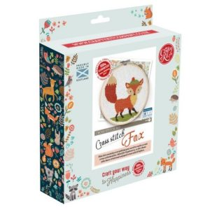 Crafty Kit Company – Fox Cross Stitch Kit