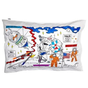 Eat Sleep Doodle Space Explorer Pillowcase and Pens
