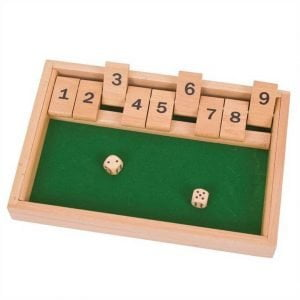 Bigjigs Wooden Shut the Box