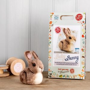 Crafty Kit Company – Baby Bunny Needle Felting Kit
