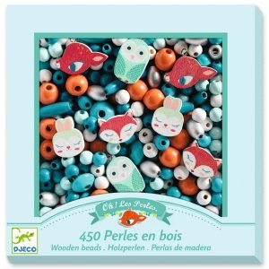 Djeco Wooden Beads – Little Animals
