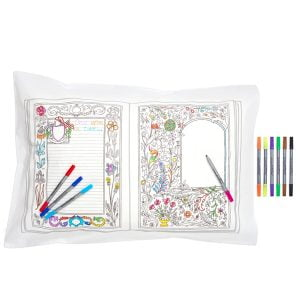 Eat Sleep Doodle Fairytale & Legends Pillowcase and Pens
