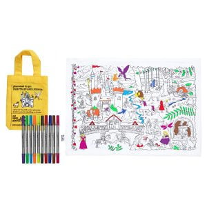 Eat Sleep Doodle Fairytales & Legends Placemat To Go