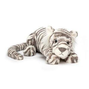 Jellycat Sacha Snow Tiger Large