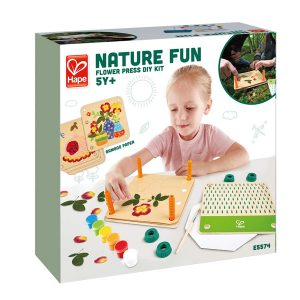 Hape Nature Fun Flower Press DIY Kit
