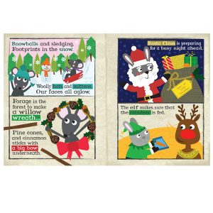 Nursery Times Crinkly Newspaper – Christmas