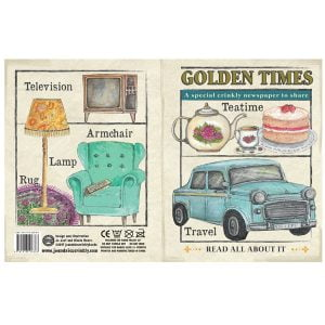 Nursery Times Crinkly Newspaper – Golden Times 1