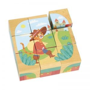 Vilac Wooden Block Puzzle – Tales