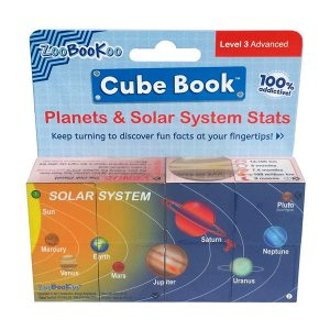 Zoobookoo Solar System Cube Book