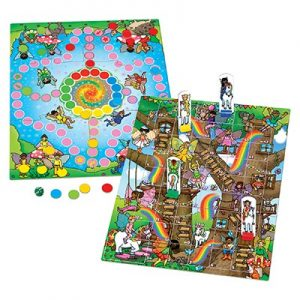 Orchard Toys Fairy Snakes & Ladders and Ludo Game