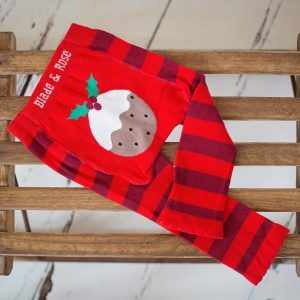 Blade and Rose Christmas Pudding Leggings 0-6 months