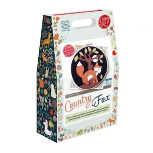 Crafty Kit Company – Country Fox Felt Applique Kit