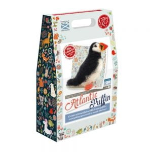 Crafty Kit Company – Atlantic Puffin Needle Felting Kit