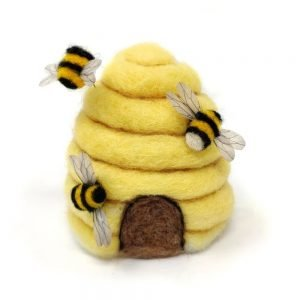 Crafty Kit Company – Bee Hive Needle Felting Kit