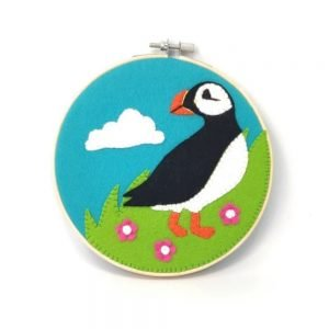 Crafty Kit Company – Applique Puffin Sewing Kit