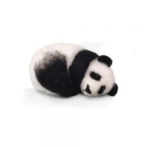 Crafty Kit Company – Sleepy Panda Needle Felting Kit