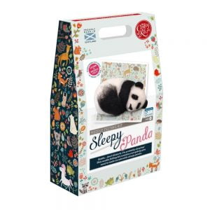 Crafty Kit Company – Sleepy Panda Needle Felting Kit