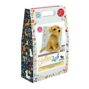Crafty Kit Company – Yellow Labrador Needle Felting Kit