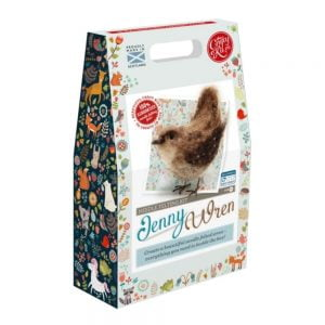 Crafty Kit Company – Jenny Wren Needle Felting Kit